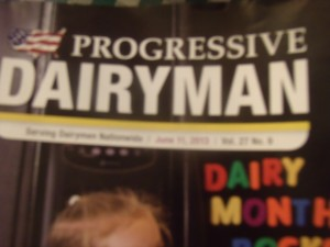 Thank you to Walt Cooly and everyone at Progressives Dairyman for sharing Lancelot's Quest.